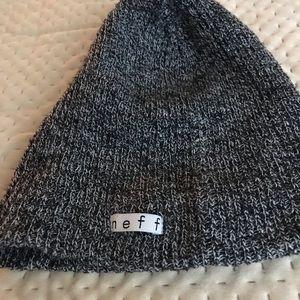 Neff grey beanie